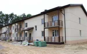 Корпорація «Roshen» завершує спорудження будинку для військових у Калинівці (фото)