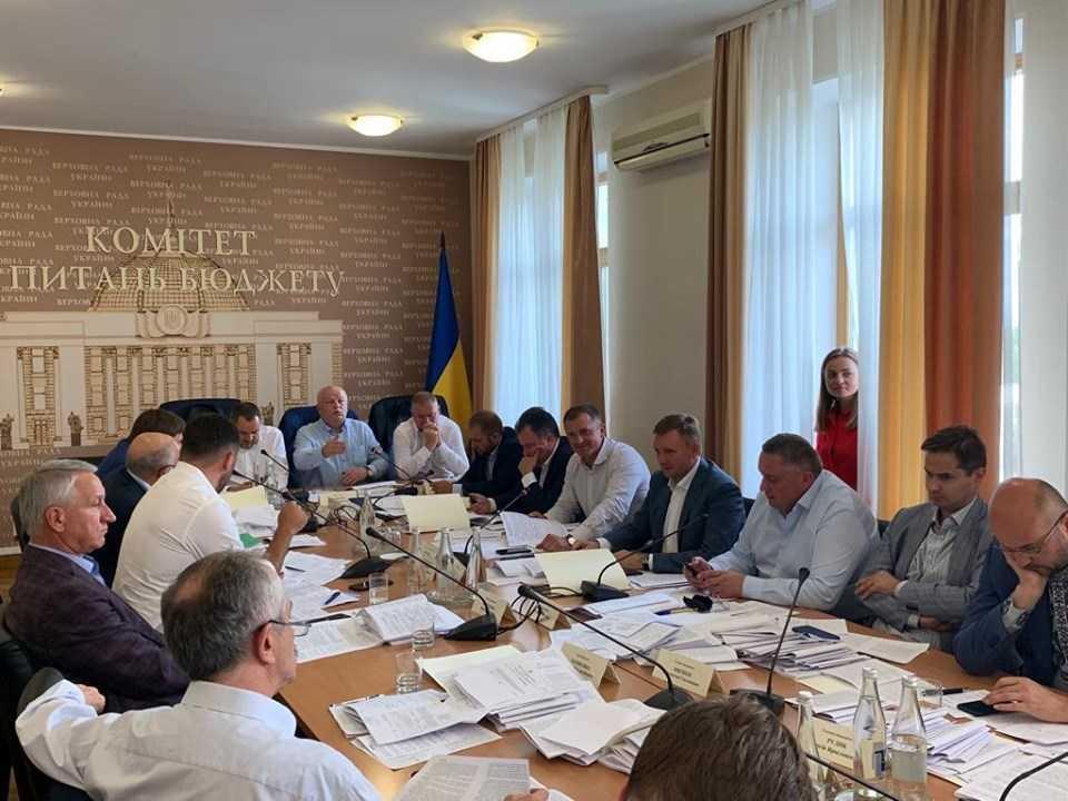 Игорь Молоток Бюджетный комитет