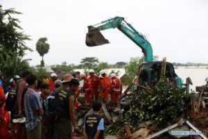 Число загиблих на зсуві М'янми зроcло до 41 людини