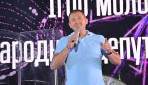 Ігор Молоток – народний депутат привітав рідне місто Шостку з днем народження