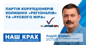 АТОвець закликав не голосувати за людину Деркача – Миколу Ногу на виборах мера Шостки