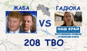 Ляшко VS Давиденко – щурячі перегони на 208 окрузі (ВІДЕО)
