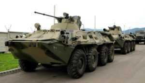 Военная техника оккупантов в Крыму попала на видео –