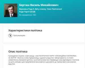 Берташ Василий Михайлович – зарабатывает деньги с помощью некачественных строек, и незаконных схемах сертификации авто