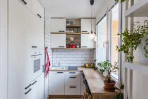 Як розподілити простір маленької кухні